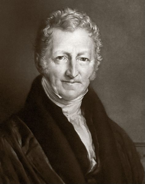 19th Century Population Growth According to Thomas Malthus