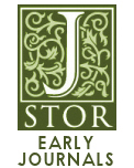 JSTOR Early Journal Content now linked via 19th Century Masterfile: 1106-1930