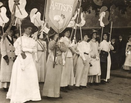 Art and the Suffrage Movement