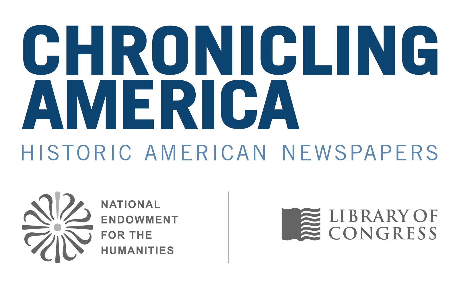 Logo of Chronicling America