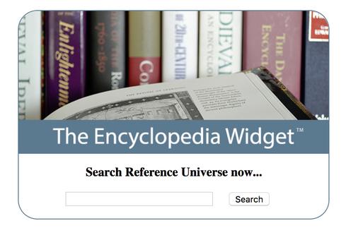 The Encyclopedia Widget