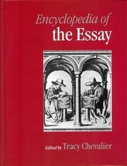 Cover of Encyclopedia of the Essay