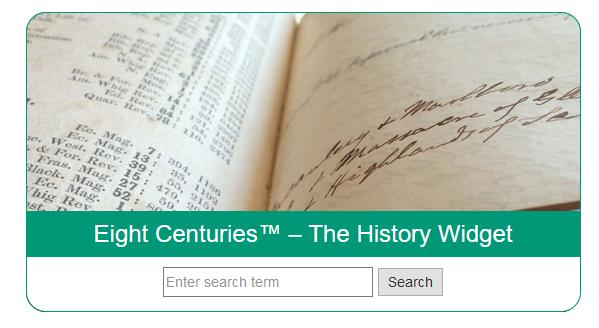 The History Widget