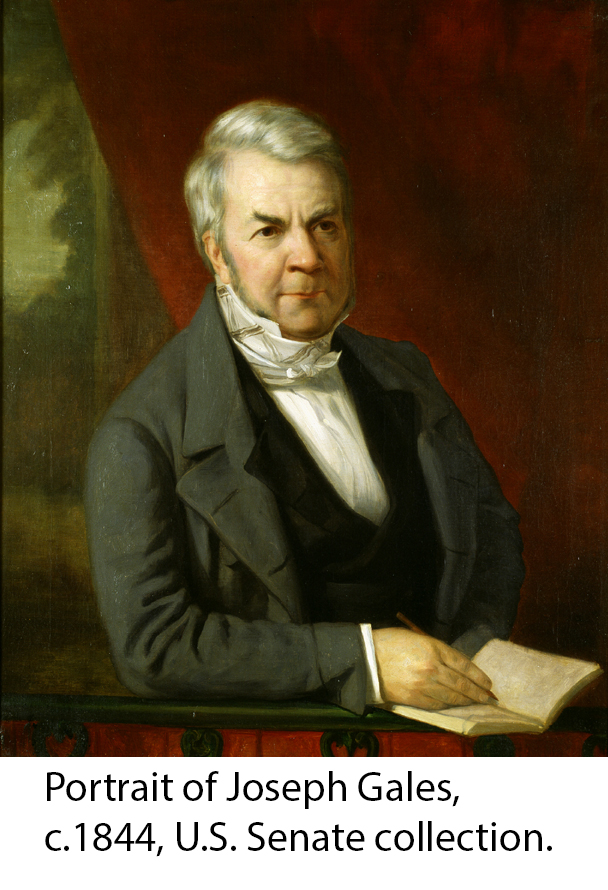 Portrait of Joseph Gales