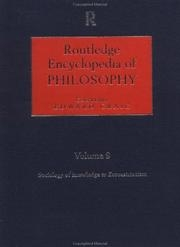 Cover of Encyclopedia of Philosophy