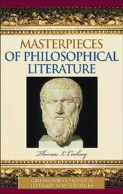 Cover of Masterpieces of Philosophical Lit
