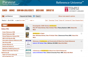 eBooks Now More Visible in Reference Universe