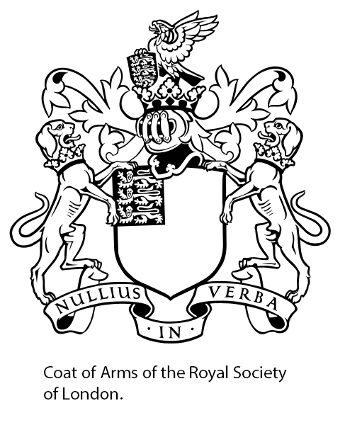 Seal of the Royal Society of London.